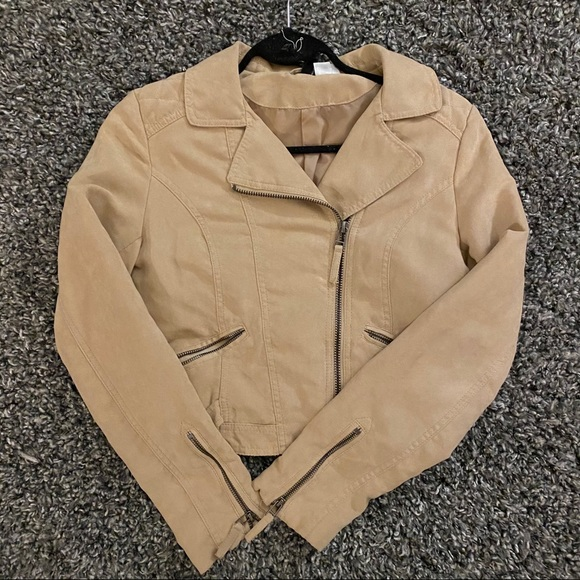 H&M Suede Utility Jacket